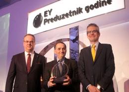 """Rade Ljubojević dobitnik nagrade Ernst & Young """"Preduzetnik godine 2013"""""""