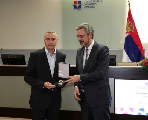 Nagrada PKS za poslovni uspeh preduzecu Copper-com